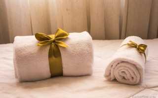 К чему дарят полотенца согласно приметам