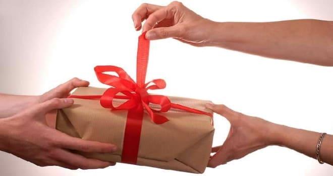 Присушка на подарок