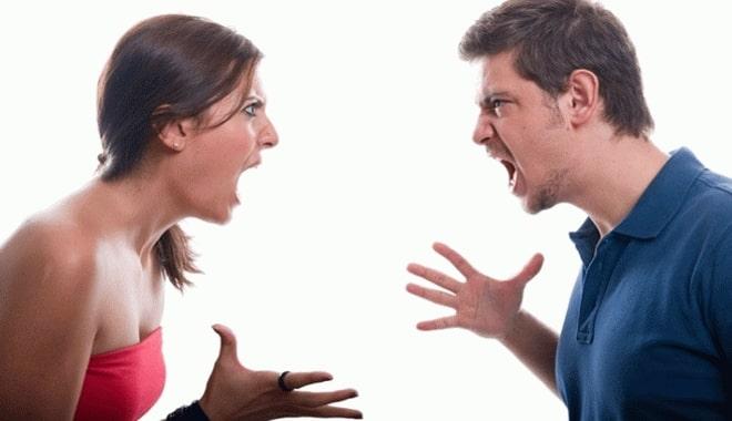 Ссора любовницы и любовника