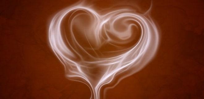 Мираж в виде сердечка