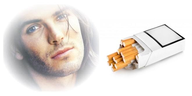Пачка с сигаретами и фото