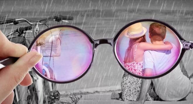 Изменение в очках