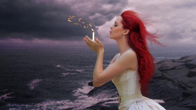 Свеча на ветру