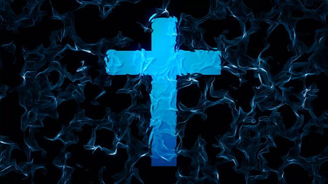 Живая вода и крест