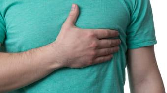 Ощущение дискомфорта в зоне грудной клетки