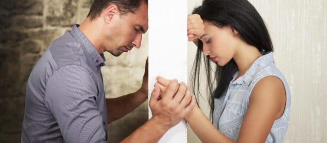Ссоры в семейной паре