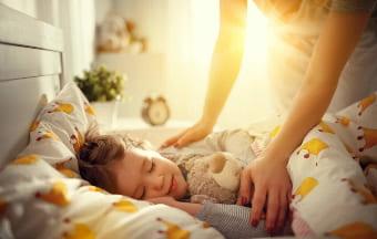 Ребёнок ложится спать