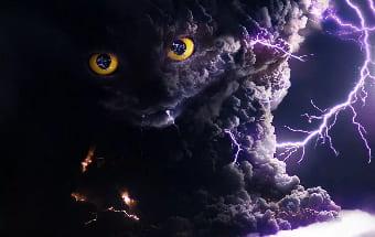 Потусторонние силы и молния
