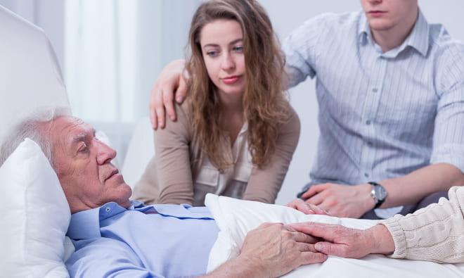 Болезнь пожилого человека