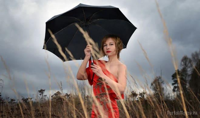 Скоро будет дождь
