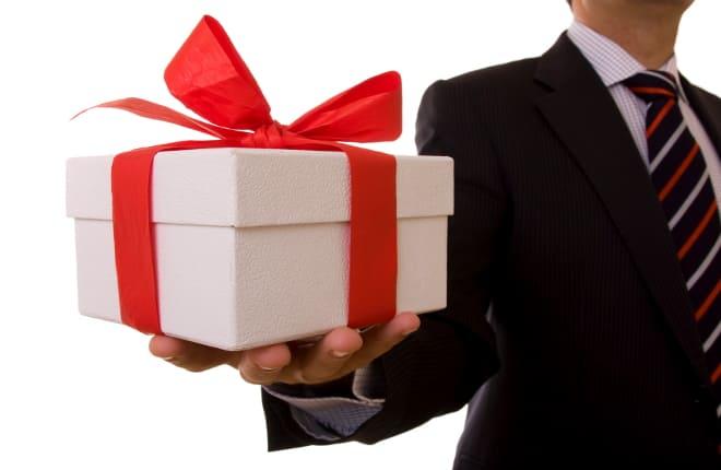 Подарок на удачу