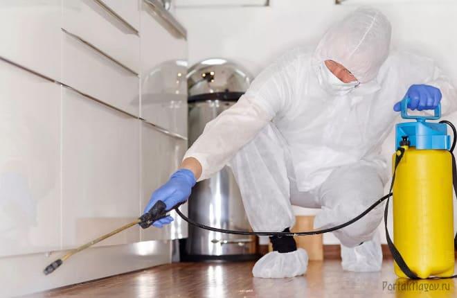Обработка квартиры химикатами