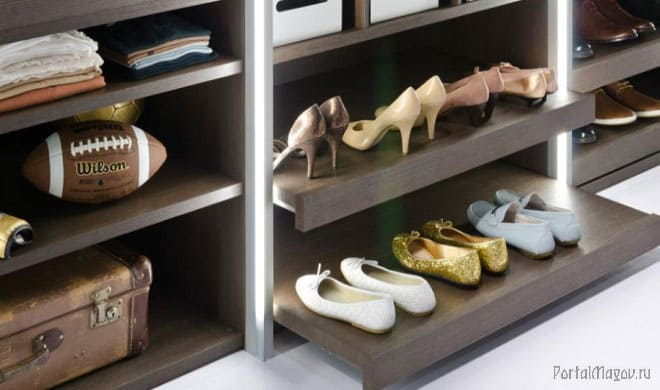 Обувь в чулане